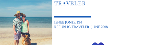 Featured Traveler of the Month June 2018