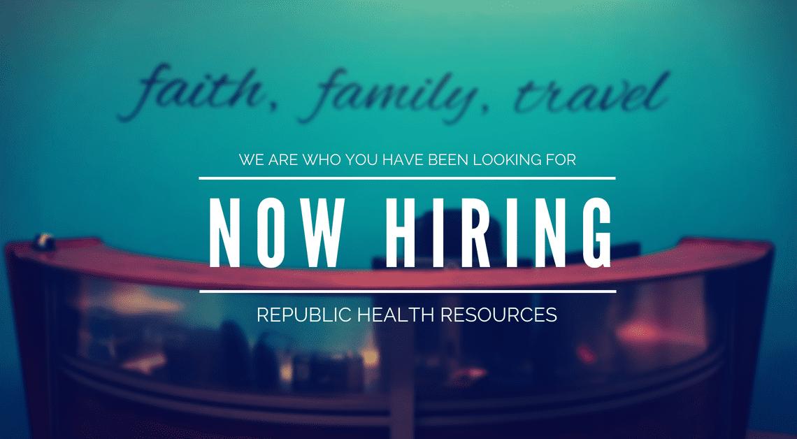 Corporate Careers Republic Health Resources