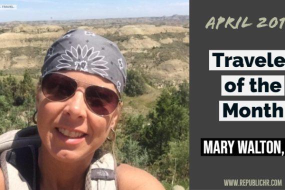 Traveler Mary Walton